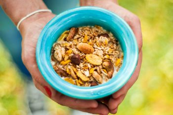 granola zelf maken homemade gezond sugarfree suikervrij zonder suiker afvallen gezond